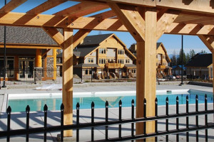 Outdoor pool at Northstar Mountain Village Resort.