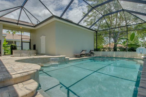 Rental pool at Luxury Reunion Rentals.