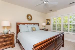 Guest bedroom at Sea Palms Resort.