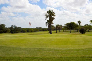 Golf course at Island House Beach Front Condominiums.