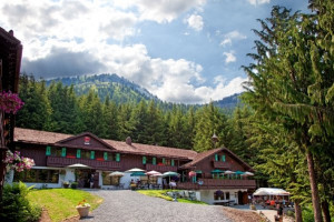 Exterior view of Crystal Mountain Hotels.