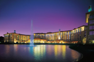 Exterior view of Soaring Eagle Casino & Resort.