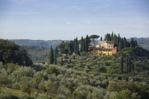 Exterior view of Villa Poggio Sanfelice.