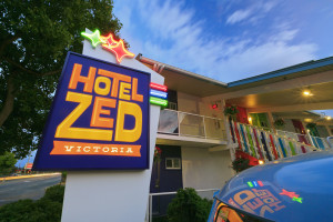 Exterior view of Hotel Zed.