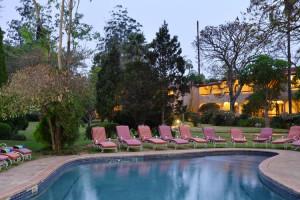 Outdoor pool at Malaga Conference and Holiday Resort.
