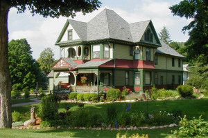 Exterior view of Habberstad House B & B.