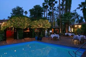 Outdoor pool at Villa Royale Inn.