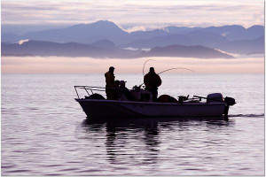 Fishing at Blackfish Lodge.