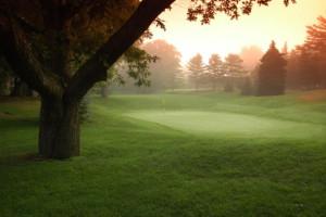Golf course at Oakwood Resort.