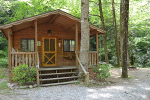 Cabin at Yogi in the Smokies.
