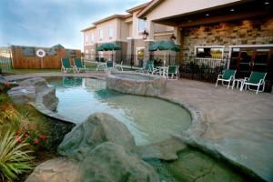 Outdoor pool at The Inn at Circle T.