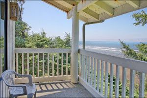 Deck view at Ocean Crest Resort.