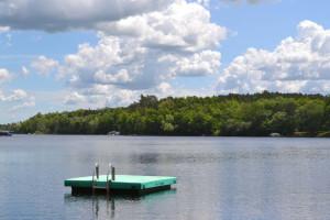 Lake view at Sand Lake Resort.