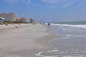 The beach at Luxury Beach Rentals, LLC.