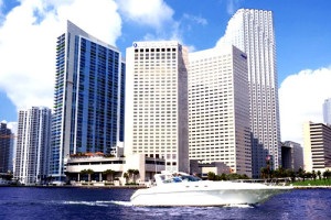 Exterior view of Intercontinental Miami.