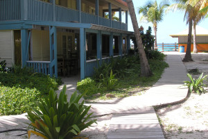 Exterior view of Culebra Beach Villas.