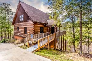 Rental exterior at Dogwood Cabins LLC.