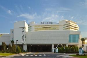 Exterior view of Palace Casino Resort.