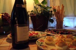 Romantic dining at Frisco Lodge.