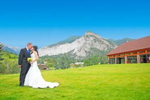 Wedding at Mt. Princeton Hot Springs Resort.