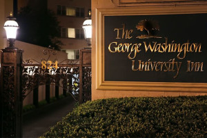 Exterior View of George Washington University Inn