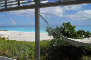 Rental beach view at Dillet's Guest House and Vacation Rentals.