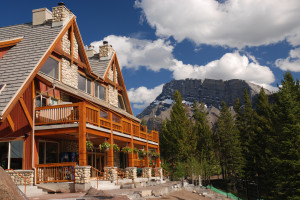 Exterior of Hidden Ridge Resort.