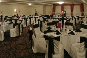 Wedding at Capitol Plaza Hotel & Conference Center.