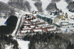 Exterior view of Chalets Mont-Sainte-Anne.