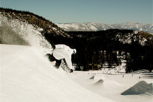 Snowboarding near Seasons 4 Condominium Rentals.