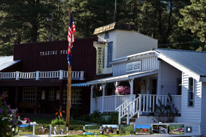 Trading Post and Assay Office at Colorado Trails Ranch.