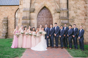 Wedding party at Boar's Head Resort.
