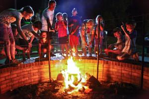 Campfire Fun at Fontana Village Resort