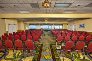 Conference room at Ramada Plaza.