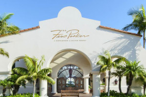 Exterior view of Fess Parker's DoubleTree Resort.
