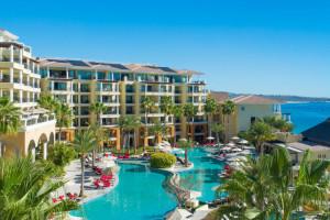 Exterior view of Casa Dorada Los Cabos Resort & Spa.
