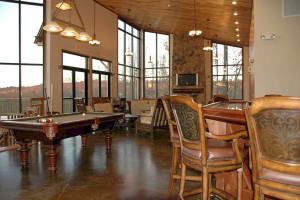 Game area at Deer Creek Lodge.