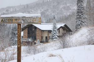 Exterior view of Aspen View Lodge.
