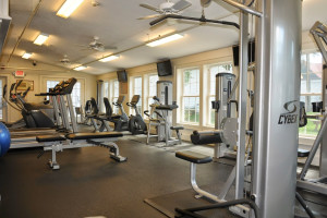 Fitness room at Eastern Slope Inn Resort.