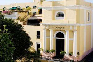 Exterior view of Hotel El Convento.
