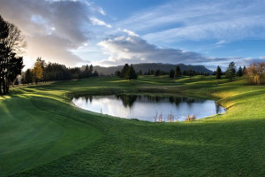 Golf course near Bonneville Hot Springs Resort & Spa.