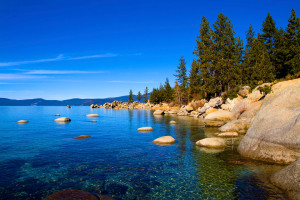 Lake Tahoe near Ritz-Carlton Lake Tahoe.