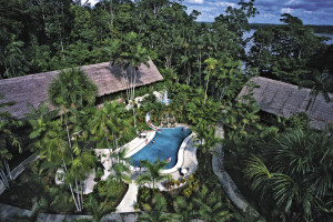 Exterior view of Ceiba Tops Lodge Resort.