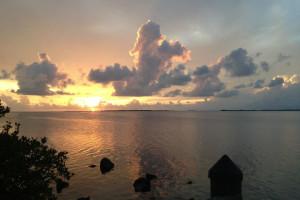 Sunrise at Bay Harbor Lodge.