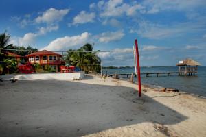 Exterior view of Nautical Inn Resort.