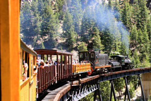 Georgetown Train at Tumbling River Ranch.