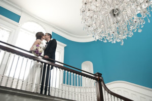 Wedding Couple at Kemble Inn