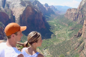 Scenic hikes at Zion Ponderosa Ranch.