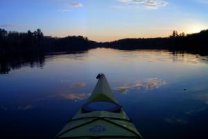 Kayaking at Pine Terrace Resort.