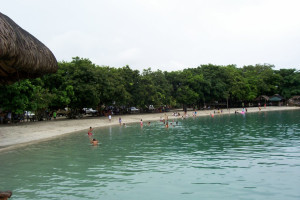 The beach at Manaklay Beach Park & Resort.